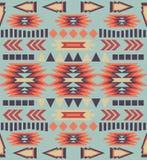 Seamless colorful ethnic pattern stock illustration