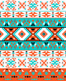Seamless colorful ethnic pattern Royalty Free Stock Photography