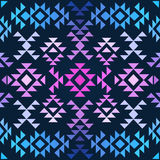 Seamless colorful ethnic pattern Royalty Free Stock Image