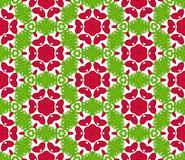 Seamless colorful floral pattern background Royalty Free Stock Photos