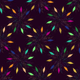 Seamless colorful floral pattern background. Lace texture for textile, wallpaper, decoration, fabric, scrap paper. Etc vector illustration