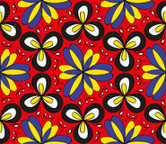 Seamless colorful floral pattern Royalty Free Stock Images