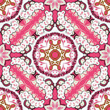 Seamless colorful floral pattern. Vector seamless colorful floral pattern background Stock Photography