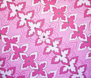 Seamless colorful floral pattern wallpaper Stock Photo