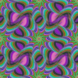 Seamless colorful fractal pattern background Royalty Free Stock Photography