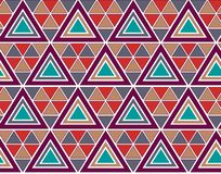 Seamless colorful geometric pattern vector illustration