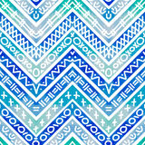 Seamless colorful geometric pattern Royalty Free Stock Images