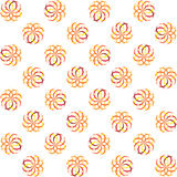 Seamless colorful globe pattern Stock Photos