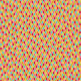 Seamless colorful harlequin pattern Stock Image