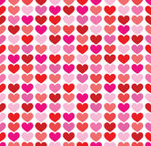 Seamless colorful hearts background Royalty Free Stock Photography
