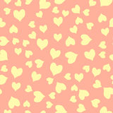 Seamless colorful hearts pattern Royalty Free Stock Images
