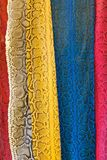 Seamless colorful leather Royalty Free Stock Photography