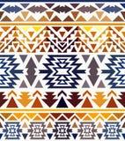 Seamless colorful navajo pattern Royalty Free Stock Photo