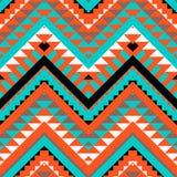 Seamless colorful navajo pattern Royalty Free Stock Photos