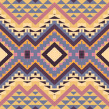Seamless colorful navajo pattern Stock Photo