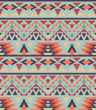 Seamless colorful navajo pattern Stock Photography