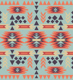 Seamless colorful navajo pattern Stock Photos