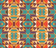 Seamless colorful navajo pattern Royalty Free Stock Photography