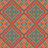 Seamless colorful navajo pattern Stock Image