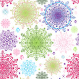 Seamless colorful pattern Royalty Free Stock Photos