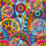 Seamless colorful pattern Stock Images