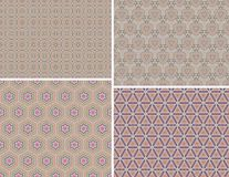 Seamless colorful pattern background Stock Photos