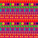 Seamless colorful pattern for celebrations with strips Royalty Free Stock Image