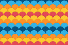 Seamless colorful pattern with circles Stock Photos