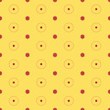Seamless Colorful Pattern Created from Circles and Dots. Seamless colorful abstract modern pattern created from circles and dots vector illustration