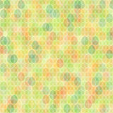 Seamless colorful pattern Easter card. Vector illustration Royalty Free Stock Image