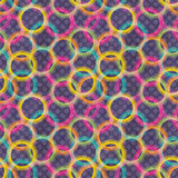 Seamless colorful pattern Stock Photography