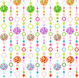 Seamless colorful pattern with little circulars Royalty Free Stock Photography