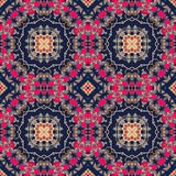 Seamless colorful pattern in moroccan style.  Royalty Free Stock Photography