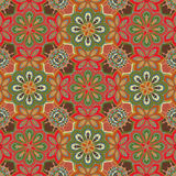 Seamless colorful pattern in oriental style. Islam, Arabic, Asian motifs Royalty Free Stock Photography