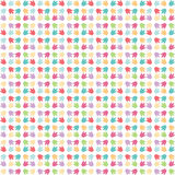 Seamless colorful pattern, repeating pattern,abstract background Stock Photography