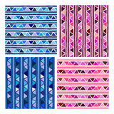 Seamless colorful pattern Royalty Free Stock Images