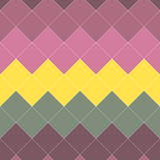 Seamless Colorful Pattern from Square Intersections Royalty Free Stock Image