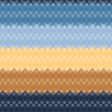Seamless Colorful Pattern from Square Intersections Stock Images