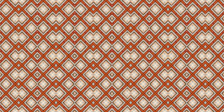 Seamless colorful pattern in tribal style. Kaleidoscopic orient popular style Royalty Free Stock Photo