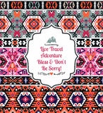 Seamless colorful pattern in tribal style Royalty Free Stock Photos