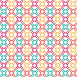 Seamless colorful pattern, vector repeating pattern  Royalty Free Stock Photography