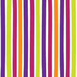 Seamless colorful pattern with vertical stripes. Pattern can be used for fabric design, t-shirts and textiles. Print for polygraphy, wallpaper, wrapping papers Stock Photography