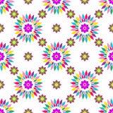 Seamless colorful pattern Stock Photo