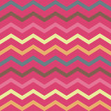 Seamless colorful pink geometric pattern with stripes Stock Photography