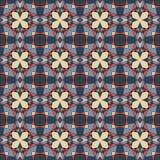 Seamless colorful retro pattern background Stock Photos