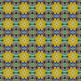 Seamless colorful retro pattern background Royalty Free Stock Images