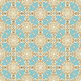 Seamless Colorful Retro Pattern Background Stock Images