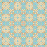 Seamless Colorful Retro Pattern Background Royalty Free Stock Photo