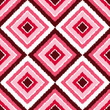Seamless colorful rhombus pattern Royalty Free Stock Photos