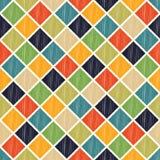Seamless colorful rhombus tiles pattern Stock Photo